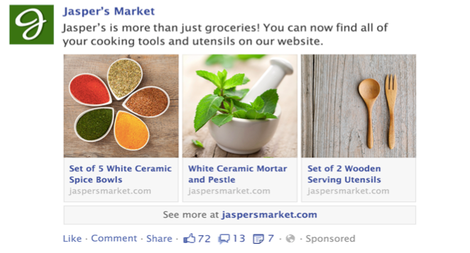 How to create a Multi-product ad on Facebook