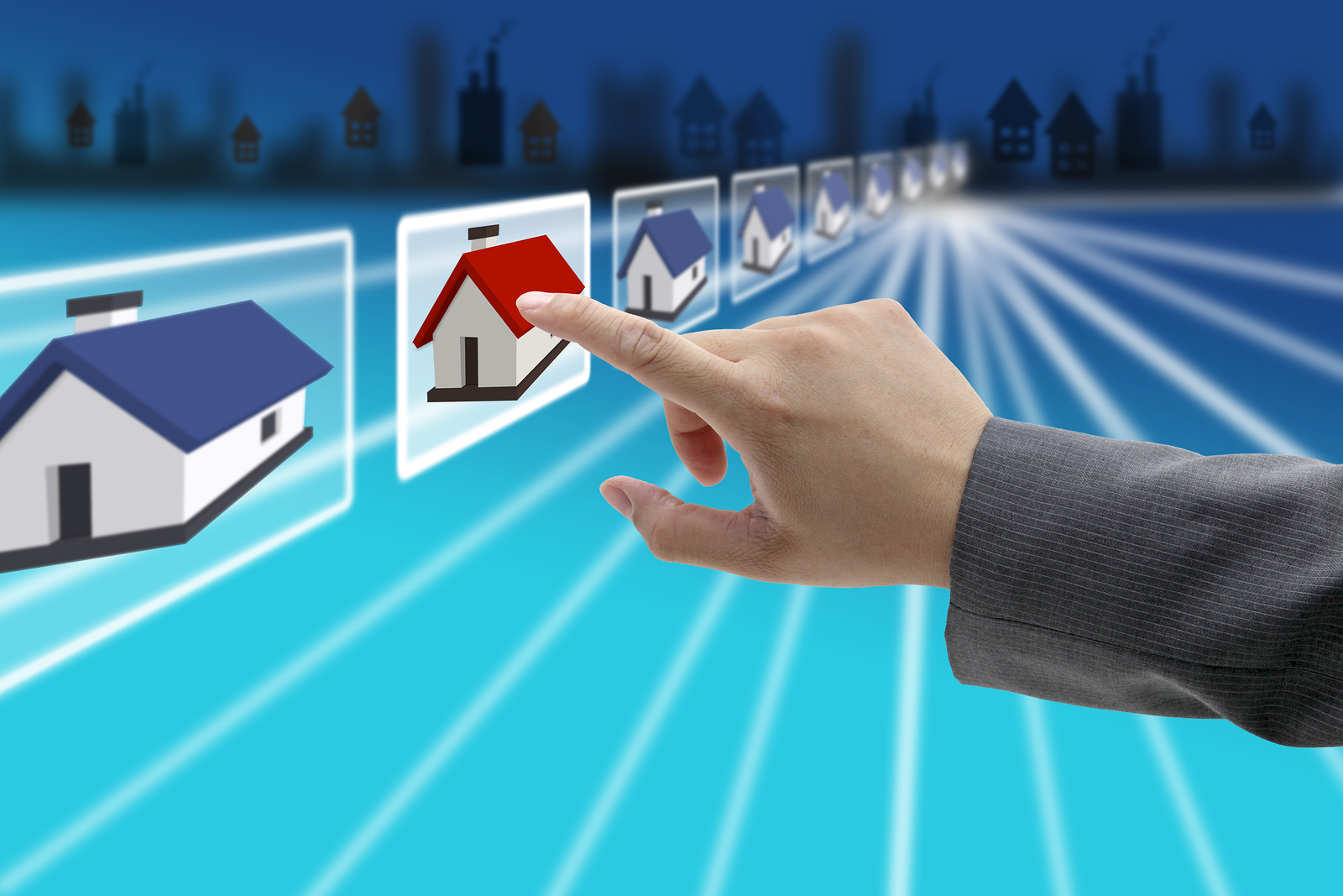 Importance of digital marketing in real estate socialmbuzz for Internet house