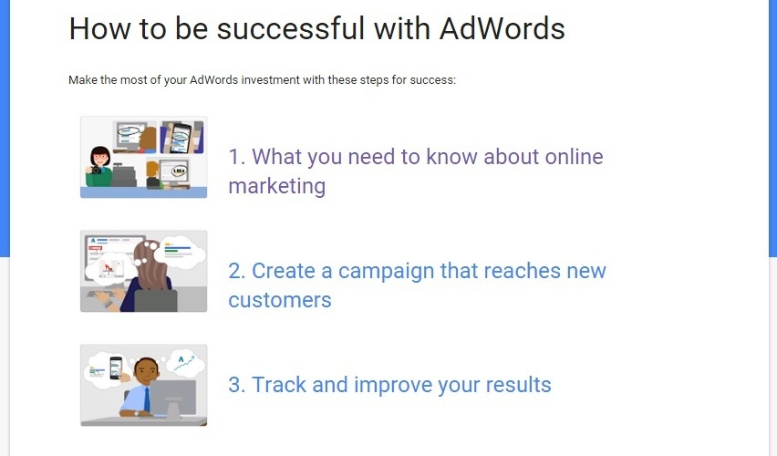Google's Adwords training