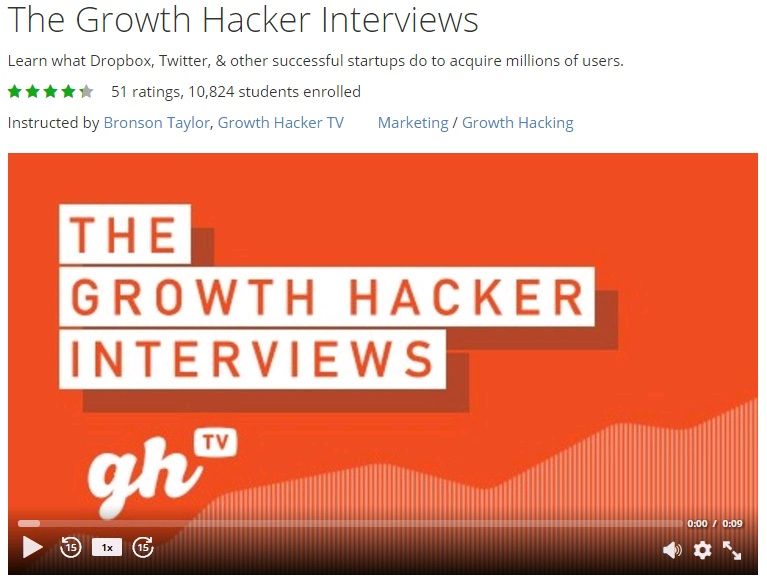 Growth Hacking Lessons